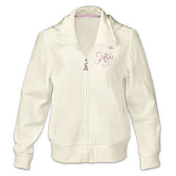 Celebrate Life Breast Cancer Support Woman's Hoodie