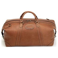 Canvas and Leather Adventure Duffle