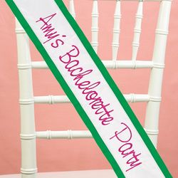 Personalized Custom Sash