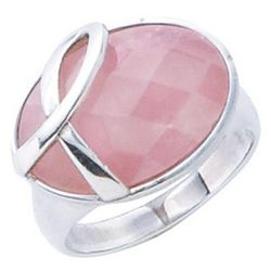 Breast Cancer Ribbon Ring