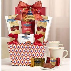 Lovin' Ghirardelli Chocolate Gift Basket