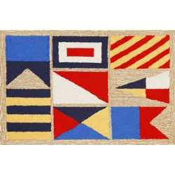 Signal Flags Indoor and Outdoor Rug