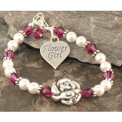 Big Blossom Flower Girl Bracelet