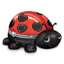 Cute As a Bug Granddaugter Ladybug Music Box