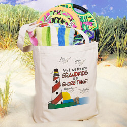 Personalized It's a Shore Thing Tote Bag