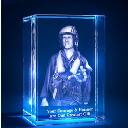 3D Laser Tower Crystal