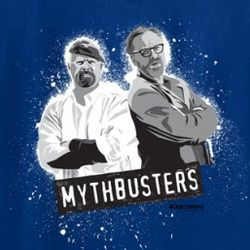MythBusters Jamie and Adam Graphic Kid's T-Shirt