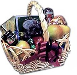 Thank You Gourmet Fruit Gift Basket