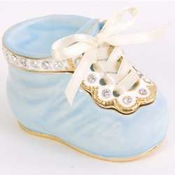 It's a Boy Baby Shoe Trinket Box