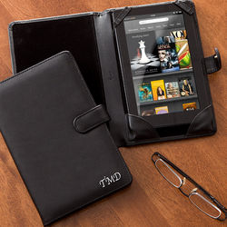 Personalized Kindle Fire Leather Case