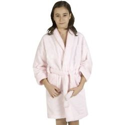 Girl's Terry Loop Cotton Bathrobe