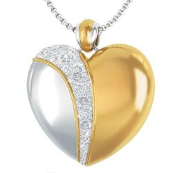 Always My Daughter Diamond Journey Pendant
