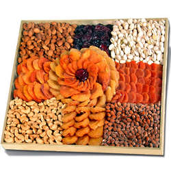 Executive Rose Dried Fruits and Nuts Platter