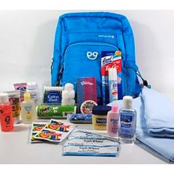 Baby on the Go Deluxe Blue Gift Set