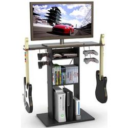 Game Central Media and TV Stand