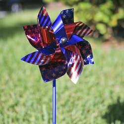 Jumbo Patriotic Pinwheels