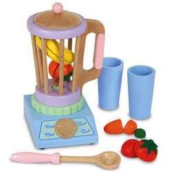 Wooden Toy Blender Set Findgift Com