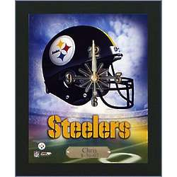 Personalized NFL Wall Clock