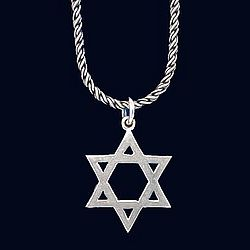 Sterling Star of David Necklace