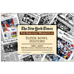 The Greatest Moments in Super Bowl History Newspaper