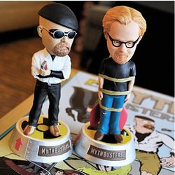 MythBusters Jamie and Adam Bobblehead Set