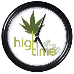 High Time Round Clock