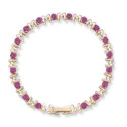 Crystal Mothers' February Birthstone Bracelet