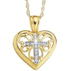 Lord's Prayer Diamond Pendant