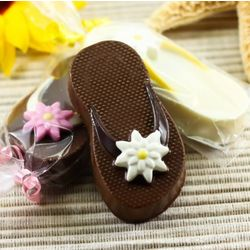 Flip Flop Chocolate Covered Oreo