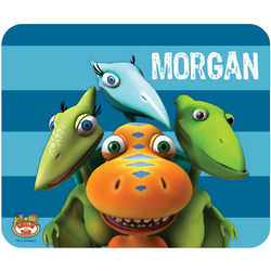 Dinosaur Train Striped Mouse Pad