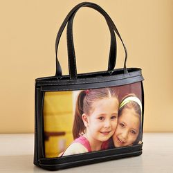 Personalized Small Photo Leather Purse