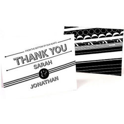 Modern Bold Graphic Thank You Cards