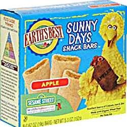 Sunny Days Sesame Street Apple Snack Bars