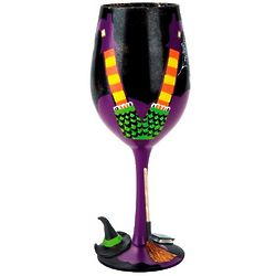 Wicked Witch 7th Wine Glass