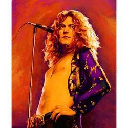 Robert Plant Pop Art Print