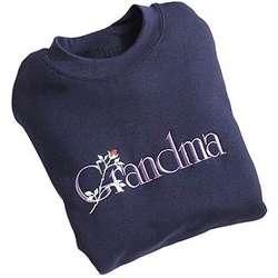 Grandma Embroidered Sweatshirt