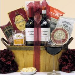 Chilean Red Duet Wine Gift Basket