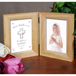 Personalized 1st Holy Communion Picture Frame