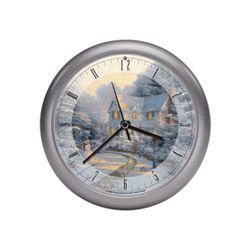 Thomas Kinkade Christmas Carol Clock