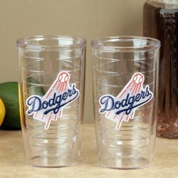 L.A. Dodgers Team Logo Tumbler Set
