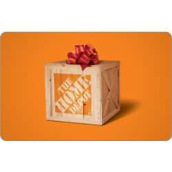 The Home Depot Bow Gift Card
