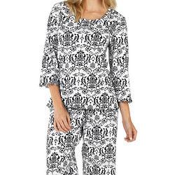 Elizabeth Damask Pajamas