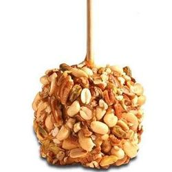 2 Pack Nut Covered Gourmet Caramel Apples
