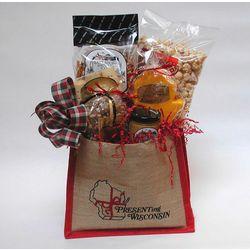 Presenting Wisconsin Gourmet Snack Sampler