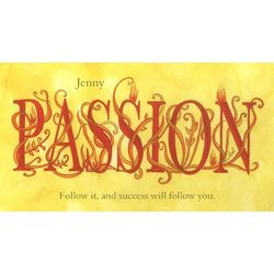 Personalized Passion Print