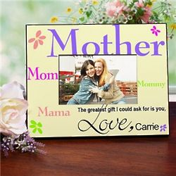 Personalized Mother Printed Frame