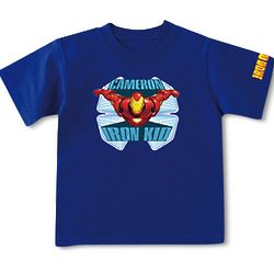 Personalized Iron Kid T-Shirt
