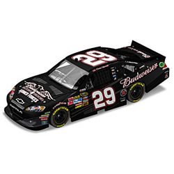 Kevin Harvick NASCAR Budweiser Military Tribute Diecast Car