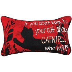 Talk to Your Cats About Catnip Pillow