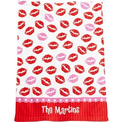 Personalized Kisses Hand Towel